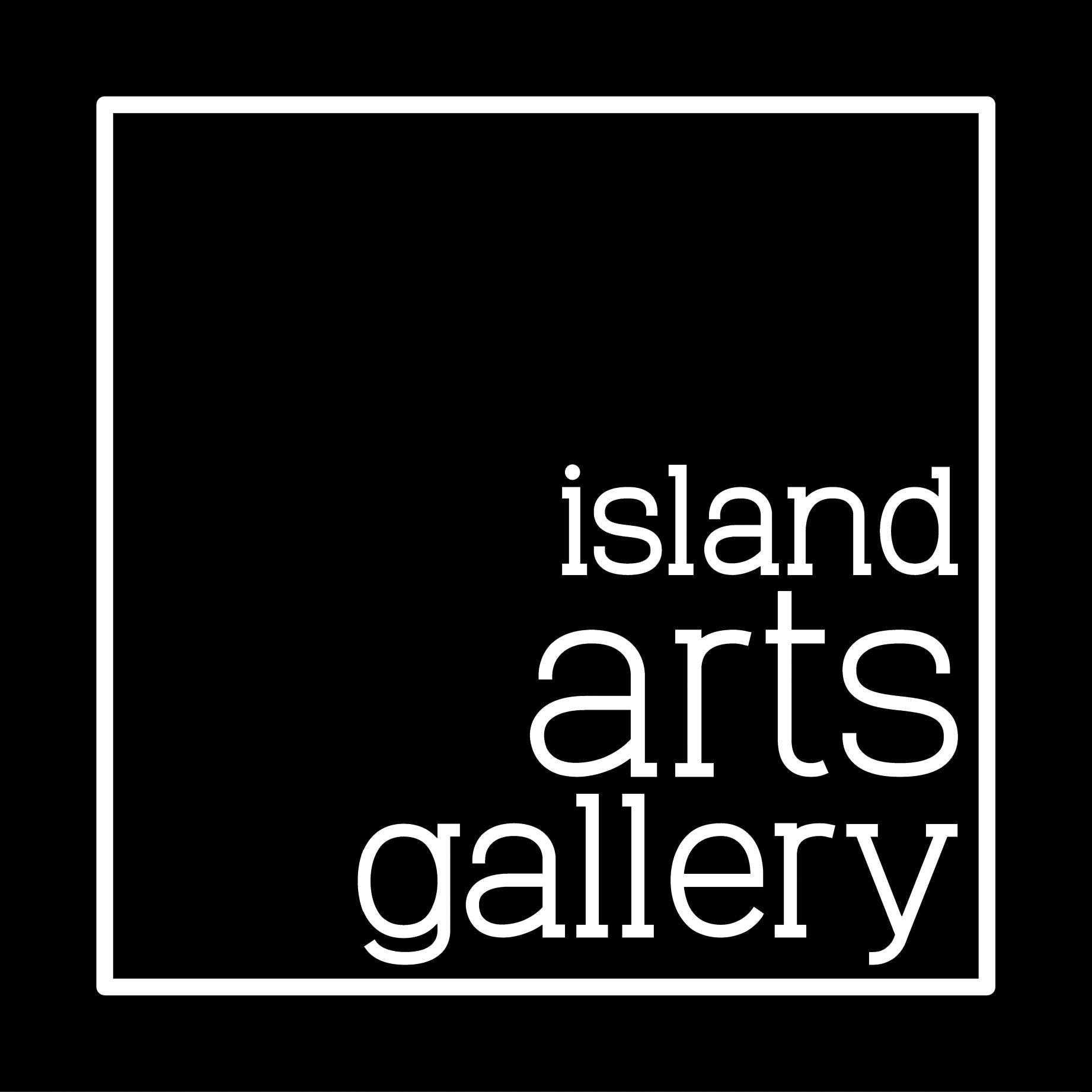 Island Arts Gallery logo North Stradbroke Island