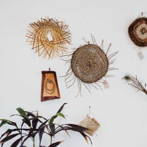 woven wall art pieces