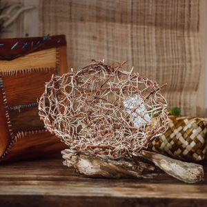 fruit basket art piece