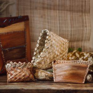 woven pouches