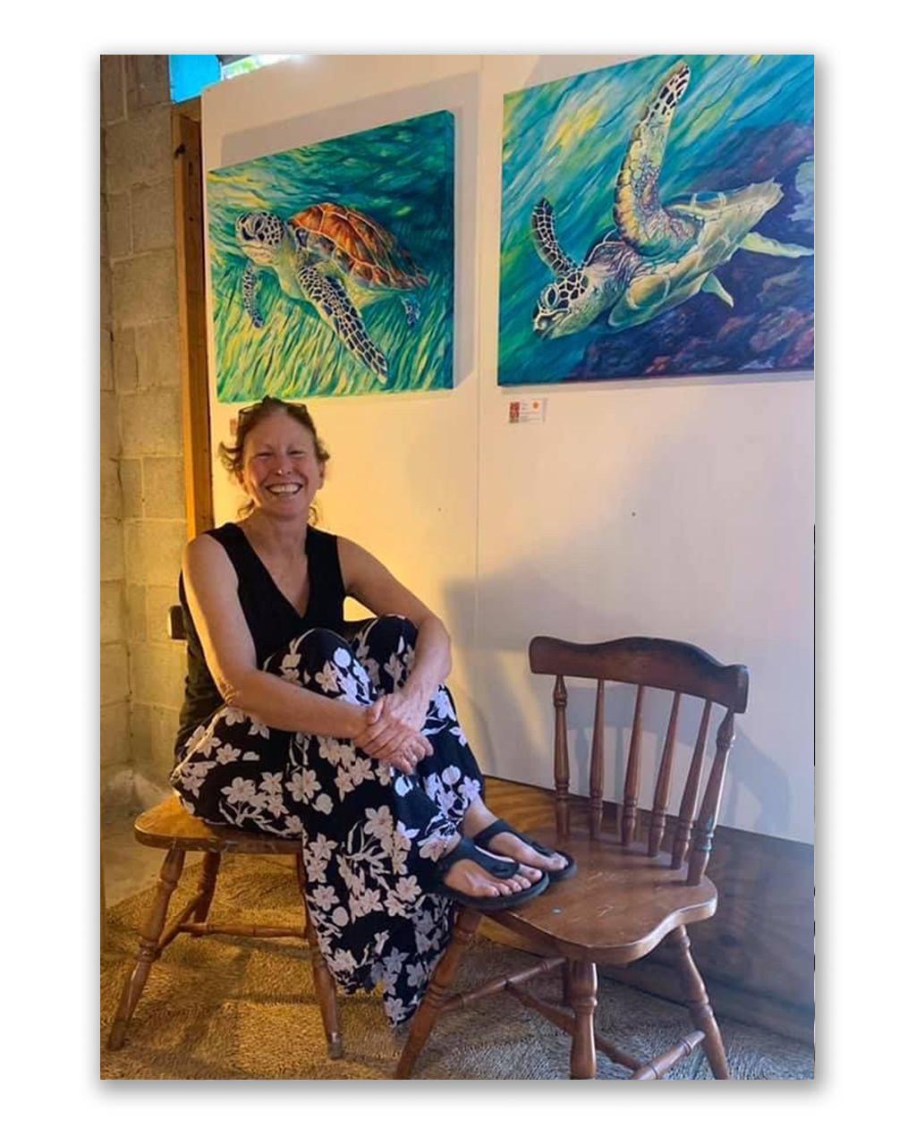 artist Bernadette Mollison